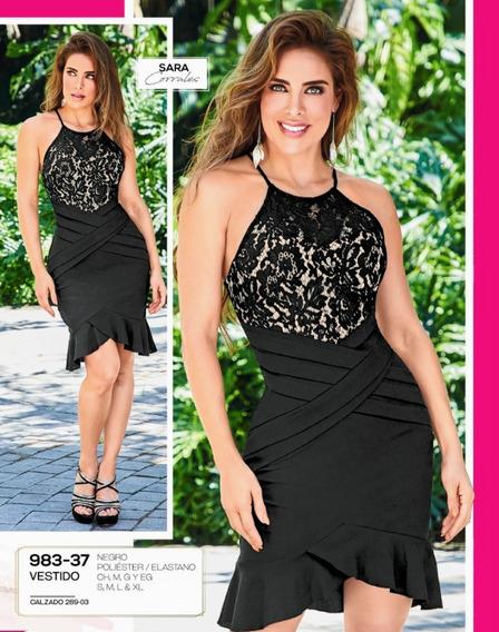 Vestido Negro 983-37 Cklass Primavera-verano 2020