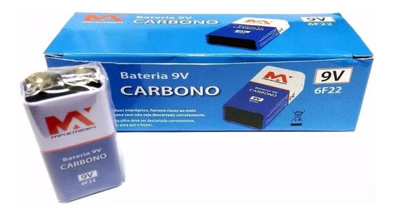 Bateria 9v Goal Caixa Com 10 Unidades