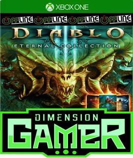 Diablo Iii Eternal Collection - Xbox One N Codigo Off-line