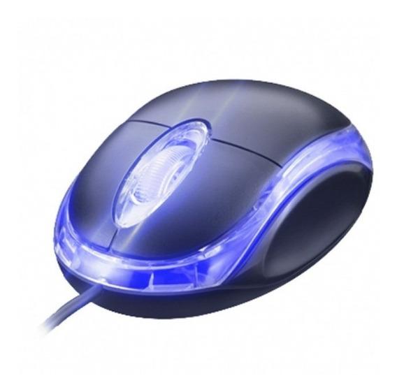 Kit 12un Mouse Óptico Office 1000 Dpi Preto Ms-035 Atacado Com Nota Fiscal Eletronica Garantia De Fabrica