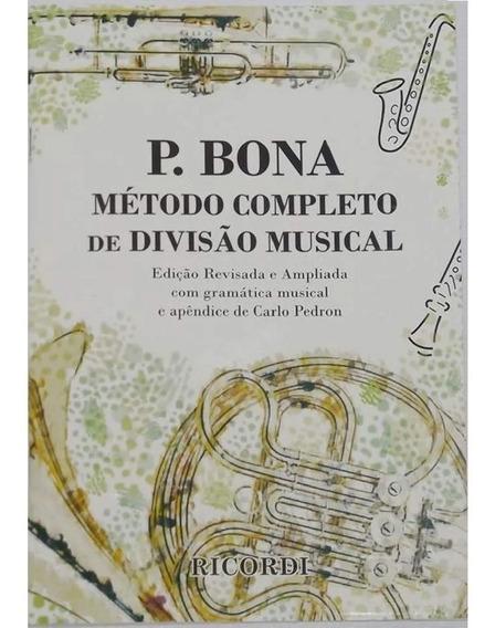 Método De Ensino Bona Carlo Pedron Completo Divisão Musical