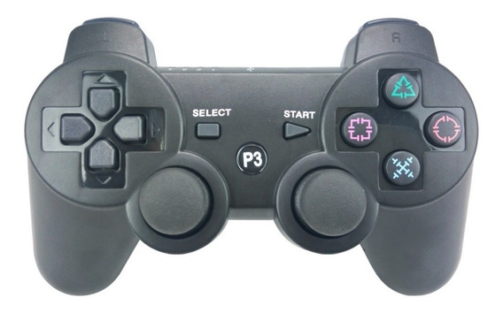 Manete Ps3 Wireless Playstation 3 Dual Shock Bluetooth 81356