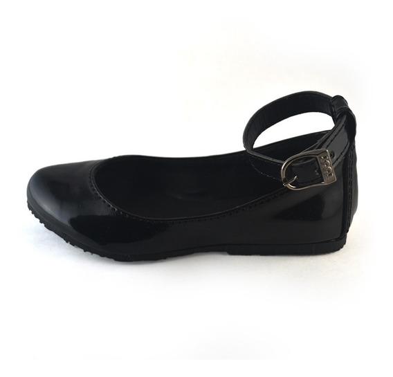 Balerina Charol Toot Negro