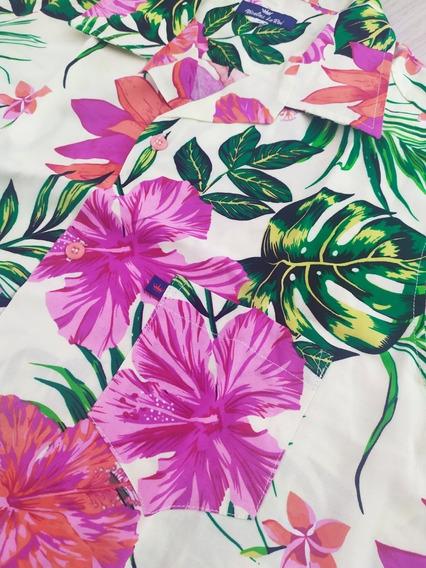 Camisas Hawaianas , Tropical ,luce Increíble En La Playa