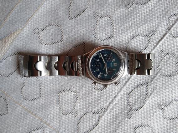 Relógio Swatch Fundo Azul Único Dono