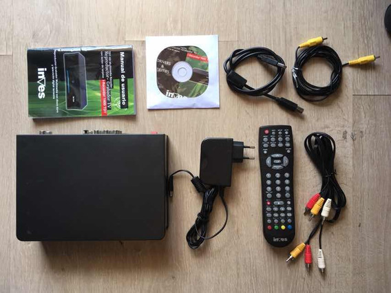 Inves Gravador Tv Av Hdmi Scart Multimedia Recorder Hd 500gb