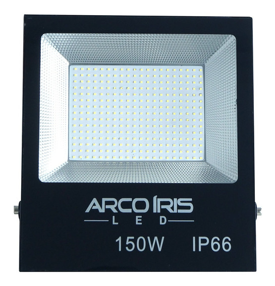 Refletor Led Holofote 150w Microled Smd Ip66 Bivolt 110/220v