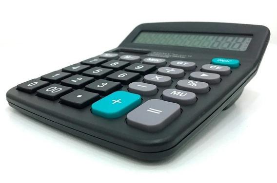 Calculadora De Mesa Comercial Teclas E Números Grandes