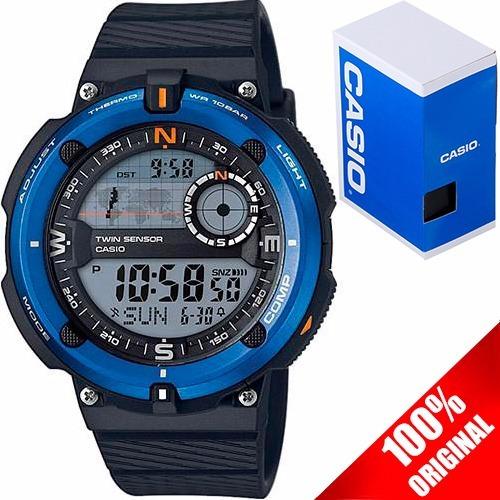 Reloj Caballero Casio Outgear Sgw 600 Brújula Termómetro