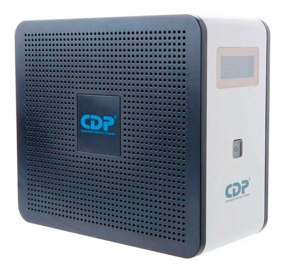 Cdp No Break 30 Min 750va/375w 10 Contactos R-smart751