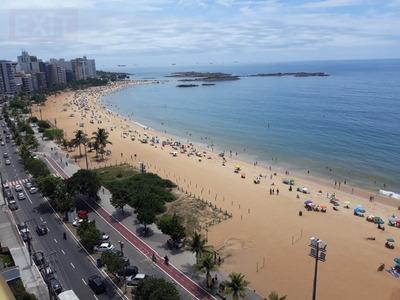 Flat Para Venda, 1 Dormitórios, Praia Da Costa - Vila Velha - 550