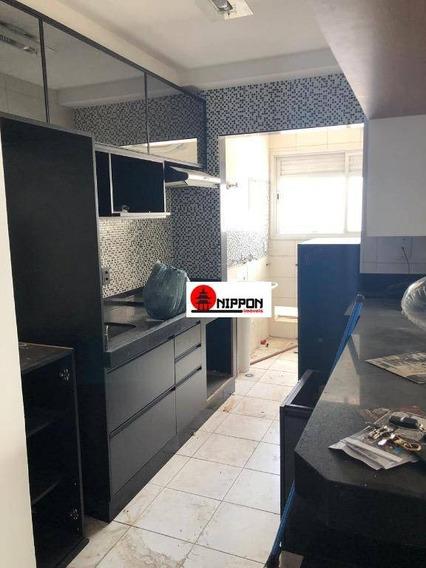 Apartamento No Condomínio Bem Estar Com 2 Dormitórios Para Alugar, 56 M² Por R$ 1.700/mês - Jardim Rosa De Franca - Guarulhos/sp - Ap1259