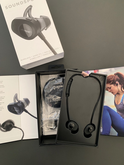 Fone Wireless Bose Soundsport (top)