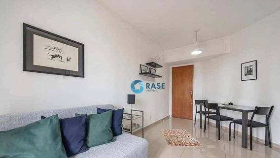 Lindo Apartamento Com 1 Dormitório À Venda, 43 M² Por R$ 390.000 - Vila Suzana - São Paulo/sp - Ap8252