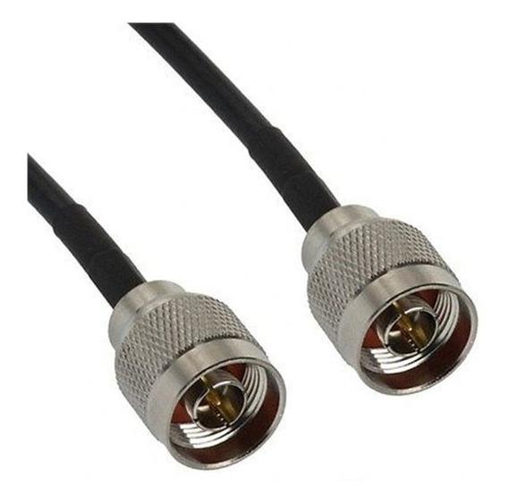 Cabo Pigtail Rgc58 Com Conectores N Macho + N Macho 50cm