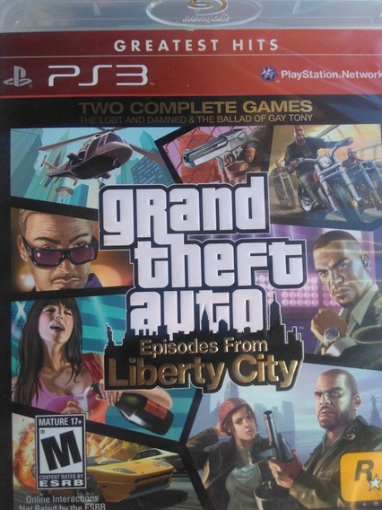 Grand Theft Auto Episodes From Liberty City Ps3 Original