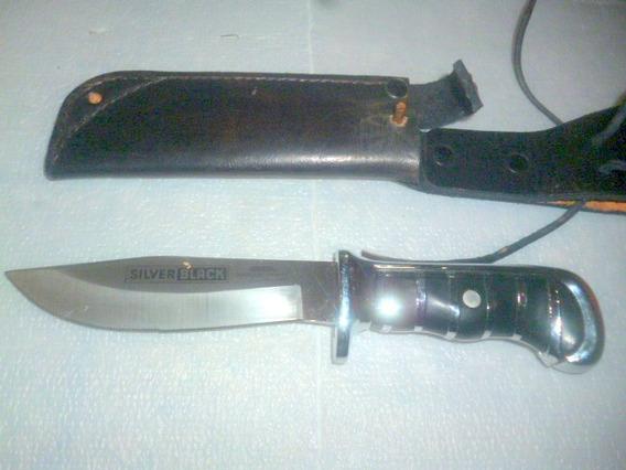 Cuchillo Alemán Único (solingen, Rostfrei) Silver Black