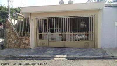 Casa Em Condomínio Para Venda Em São Carlos, Residencial Monsenhor Romeu Tortorelli, 3 Dormitórios, 1 Suíte, 3 Banheiros, 2 Vagas - Lcc328