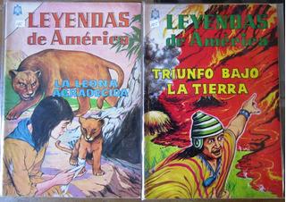 Leyendas De America Edit. Novaro 6 Comics 60.00 C/u