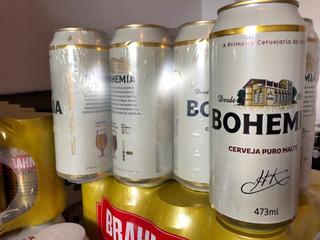 Cerveza Bohemia X 473 Cc. De Brasil