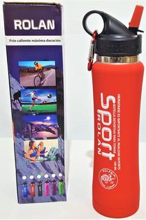 Botella Termica Deportiva Acero Inoxidable 500 Ml Sport Fly