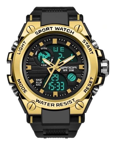 Relógios Masculino Original Militar Esporte Shock Promoção