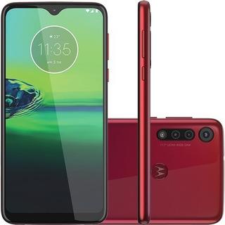 Motorola Moto G8 Play 32gb Câmera 13mp + 8mp + 2mp -vermelho