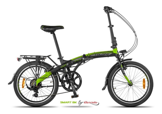 Bicicleta Plegable Aurorita Folding Smart-bk *ahora 12 Y 18*