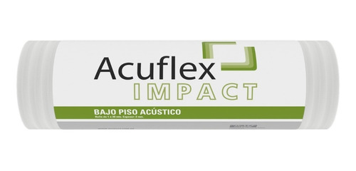 Manta Aislante Acústico Bajo Piso Flotante Acuflex 1x20 M