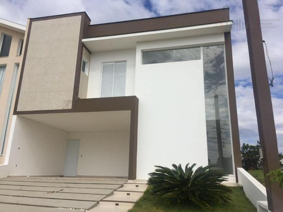 Excelente Sobrado 3 Suítes E Piscina À Venda, Condomínio Campos Do Conde, Sorocaba. - Ca1029