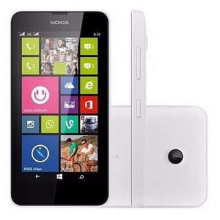 Nokia Lumia 630 8gb 1chip Windows 8.1 Quad Ver Que Cor