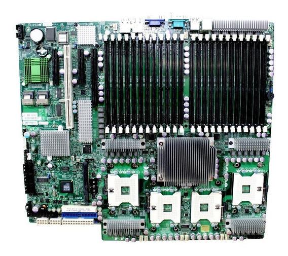 Placa Mãe Servidor Mbd-x7qc3-o Supermicro Socket 604 I7300