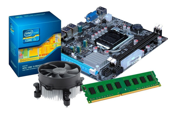 Kit Processador I5 3570 + Placa Mãe H61 + 8gb Ddr3 + Nfe