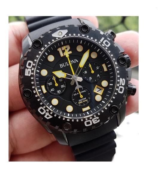 Relógio Bulova Sea King 98b243 Novo E A Pronta Entrega