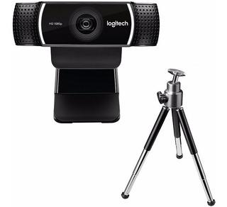 Camara Web Logitech C922 Pro Stream Webcam 1080 30fp Tripode