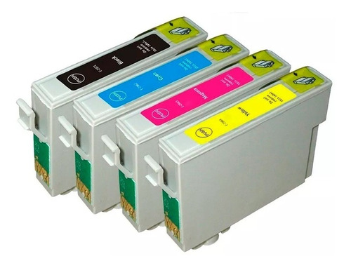 4 Cartuchos Compatibles Xp-231 Triple Carga Xp-241 Xp  441.