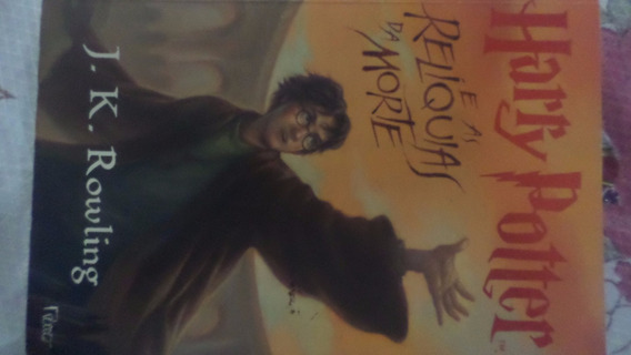 Harry Potter E As Relíquias Da Morte Livro Físico