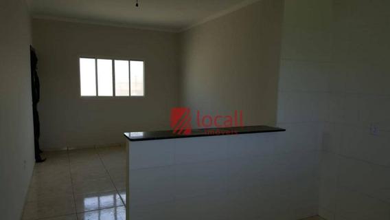 Casa Com 2 Dormitórios À Venda, 56 M² Por R$ 160.000 - Parque Dos Ipês - Mirassol/sp - Ca1760