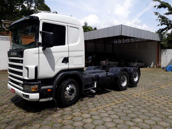 Scania R124 360 6x2 Original De Fabrica - Ano 2001