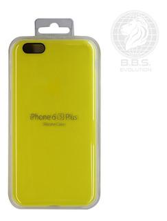 Funda Silicon iPhone 6s Plus Protector Case