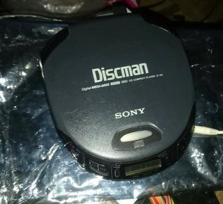 Discman Sony Clásico D-151 En Buen Estado