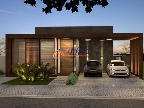 Imagem 1 de 4 de Terreno + Construção - Casa Em Condomínio A Venda No Bairro Portal Do Paraíso Ii - Jundiaí, Sp - Ph25786