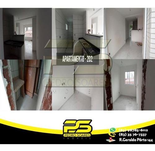 Apartamento Com 2 Dormitórios À Venda, 37 M² Por R$ 147.908 - Tambauzinho - João Pessoa/pb - Ap2394