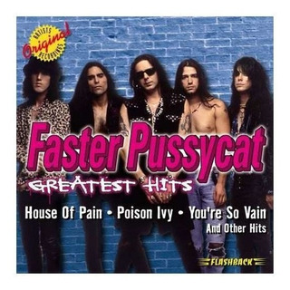 Faster Pussycat Greatest Hits Usa Import Cd Nuevo