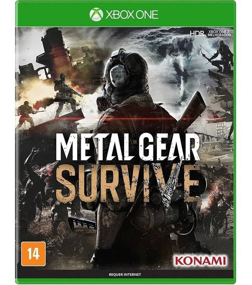 Metal Gear Survive Xbox One Lacrado Mídia Física Xone