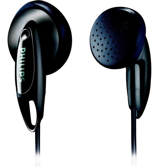 Fone De Ouvido Estéreo Intra-auricular Fio 1m 50mw Philips