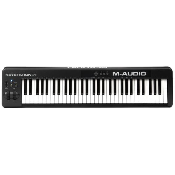 Teclado Controlador Midi Com Usb - Keystation 61 Ii M-audio