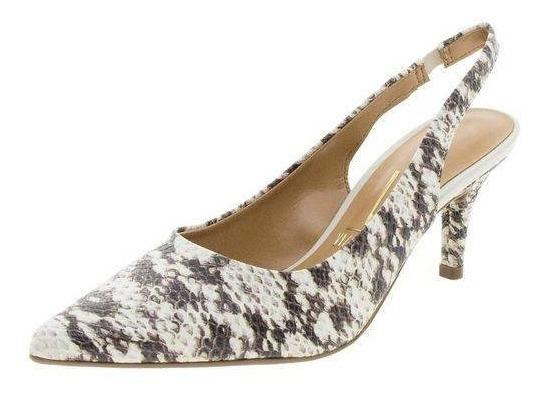 Sapato Feminino Scarpin Cobra Vizzano 1185166 Branco