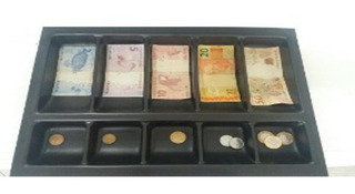 Separador De Notas Moeda Para Gavetas De Dinheiro