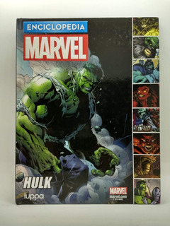Enciclopedia Marvel Hulk Luppa + Reloj De Colección